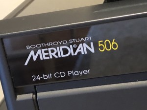 Meridian 506.24 CD Player Service & Mystery Fault Repair