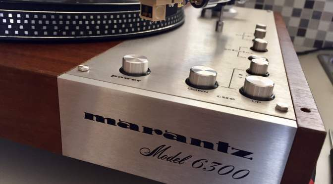 Marantz Model 6300 Turntable Service & Overview