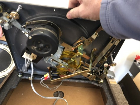 img_0926 Dual 1219 Idler Drive Turntable Major Service & Repair