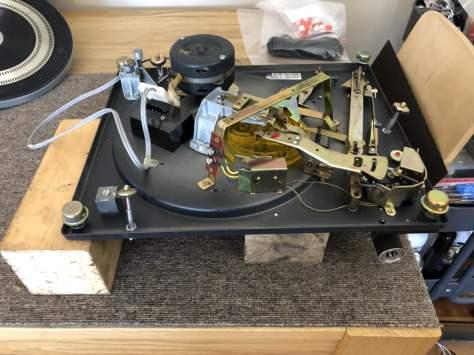 img_0927 Dual 1219 Idler Drive Turntable Major Service & Repair