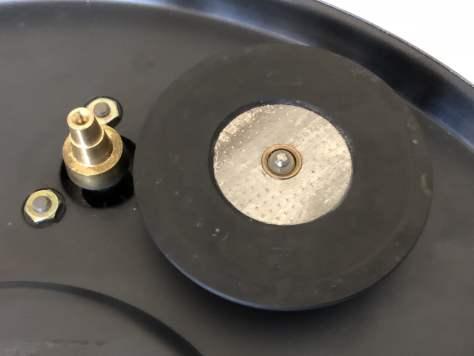 img_0941 Dual 1219 Idler Drive Turntable Major Service & Repair