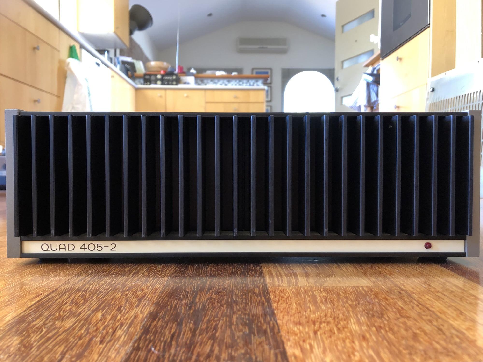 Quad 405/405-2 Power Amplifier Review