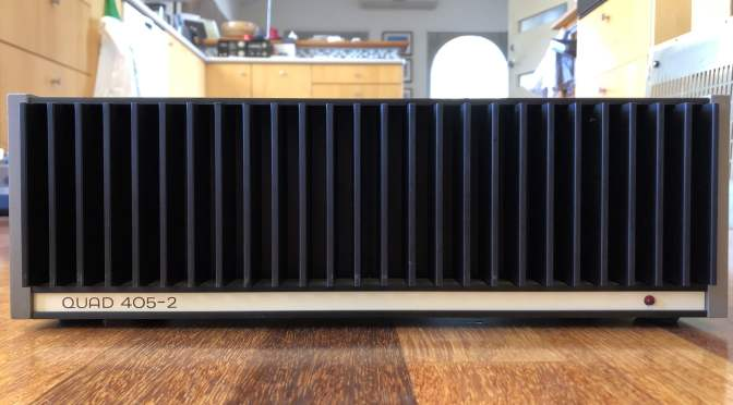 Quad 405/405-2 Power Amplifier Review
