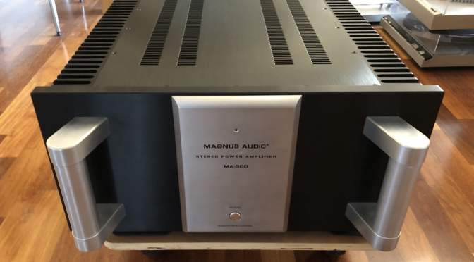 Magnus Audio MA-300 Monster Power Amplifier Upgrade