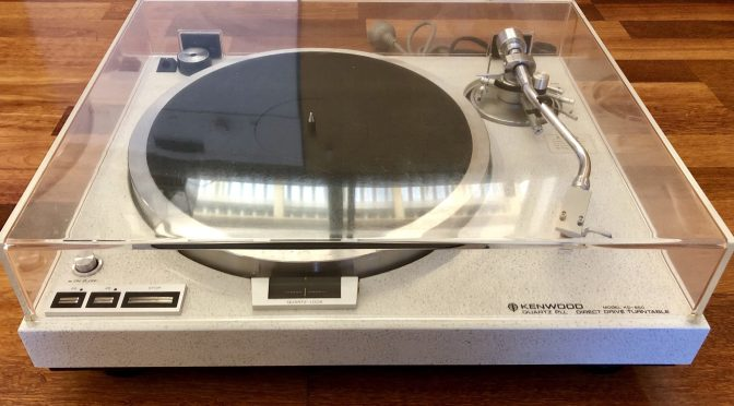 Rare Kenwood KD-650 Turntable for Sale!