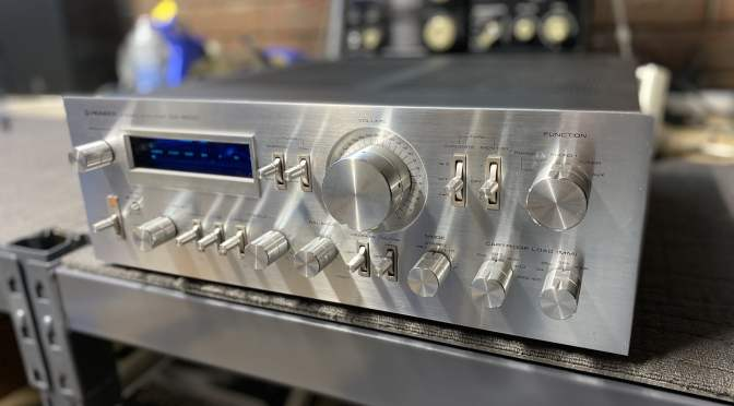 Pioneer SA-9800 Integrated Amplifier Major Service