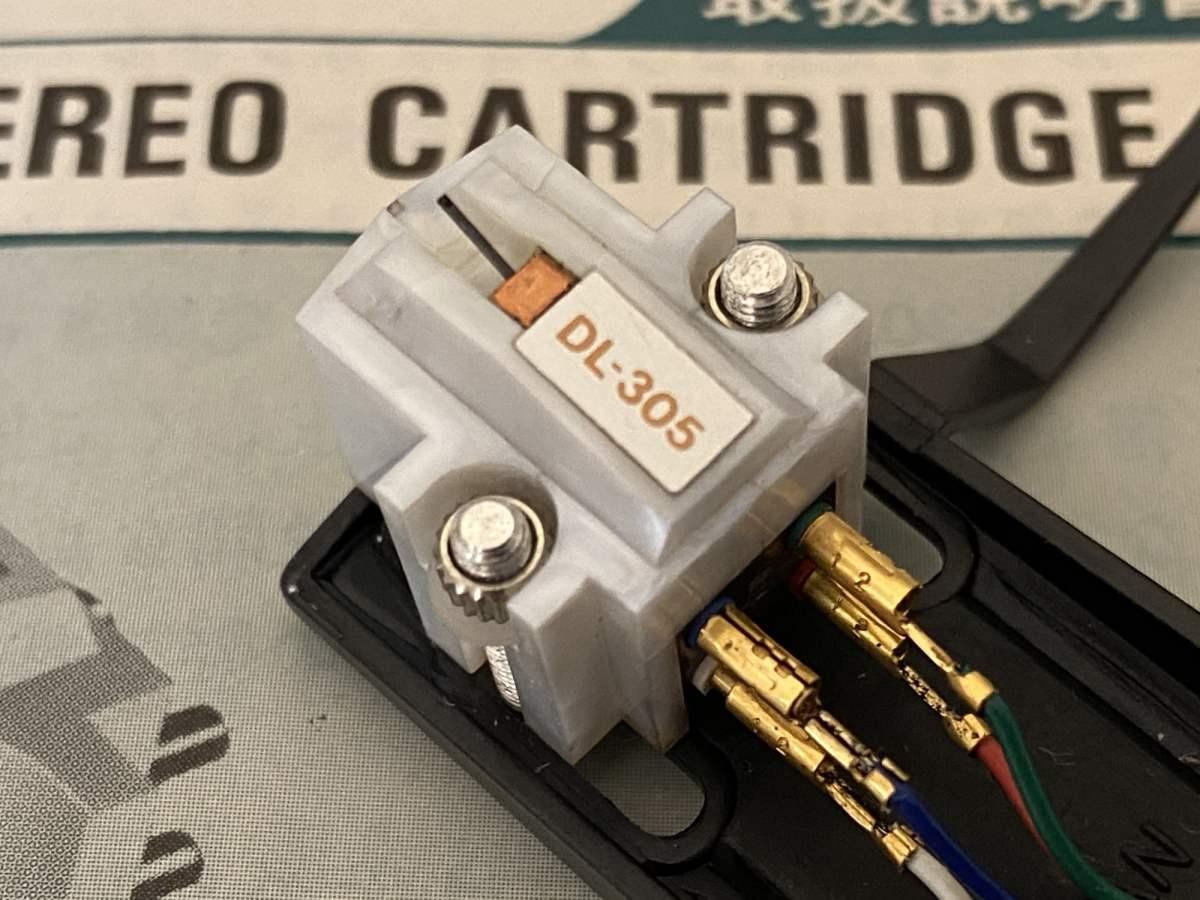 Denon DL-305 cartridge inspection