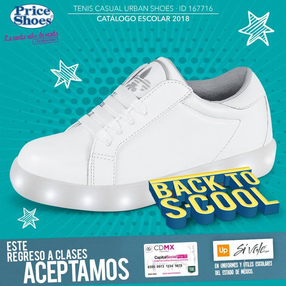 Price especiales Zapatos Regreso a clases 2018 / Precios especiales Price en calzado 064cf7