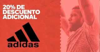 aa75c0478ede4 La tienda online de Adidas tiene durante su temporada de rebajas un 20% de  descuento adicional a lo ya rebajado ingresando el código  EXTRA20