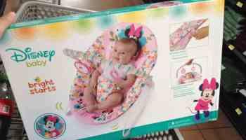 500.02 - Walmart - Silla mecedora para bebés marca Disney Baby línea  Bright Starts con el 14dda69e3e9