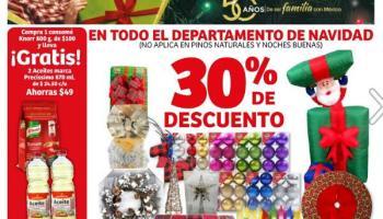dc35bbafbf9d4 Soriana Híper - Navidad 2018   30% de descuento en todo el departamento de  navidad