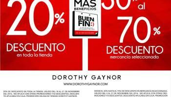 3cd51d29 Dorothy Gaynor - El Buen Fin 2018 / Hasta 70% de descuento en modelos  seleccionados