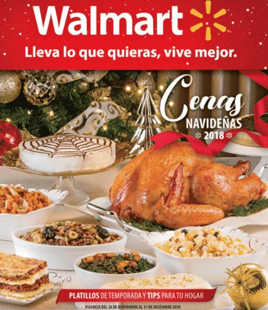 Walmart - Navidad 2018 / Paquetes y cenas navideñas...