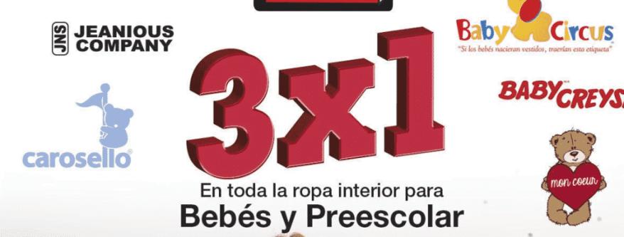 Sears El Buen Fin 2018 3x2 En Toda La Ropa Interior Para