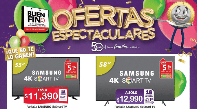 Soriana Mercado y Express - Folleto del 16 al 19 de noviembre de 2018 / El Buen Fin...