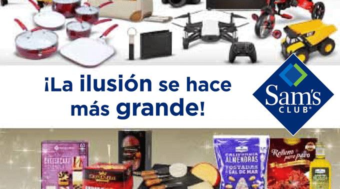 Sam's Club - Folleto y Cuponera del 13 de diciembre de 2018 al 1 de enero de 2019 / ¡La Ilusión se Hace más Grande!...