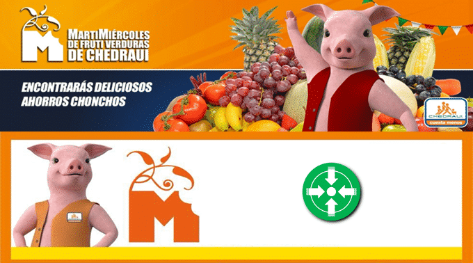 Chedraui - MartiMiércoles de FrutiVerduras 19 y 20 de marzo de 2019 / Aguacate Hass y Manzana Roja a $19.50kg y más...