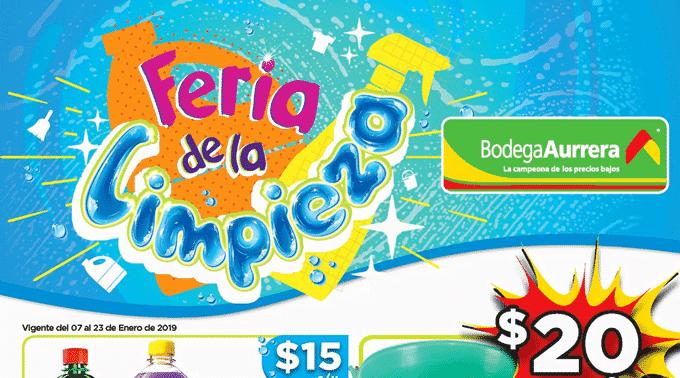 Bodega Aurrerá - Folleto del 7 al 23 de enero de 2019 / Feria de la Limpieza...