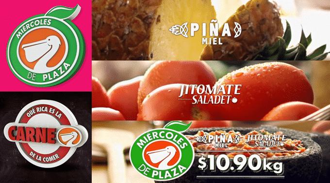 La Comer - Miércoles de Plaza 20 de febrero de 2019 / Piña Miel y Jitomate Saladet a $10.90kg y más...
