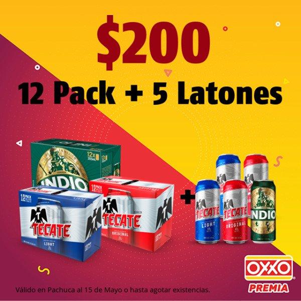 Oxxo - Semana Santa 2019 / Promociones en cervezas, licores y combos especiales...