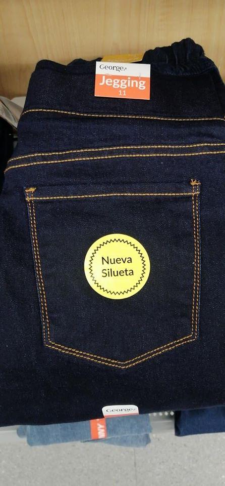 90 02 Walmart Pantalon De Mezclilla Tipo Jeggins Para Dama Marca George Con El 60 De Descuento Liquidazona