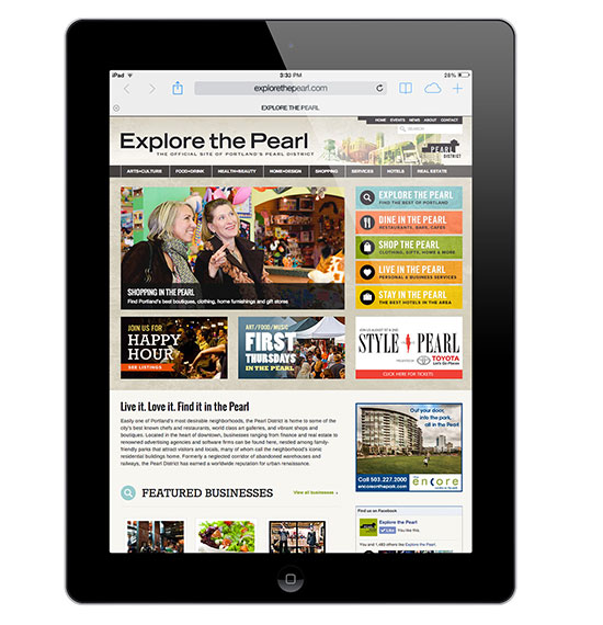 Explore The Pearl - WordPress Directory - Portland OR