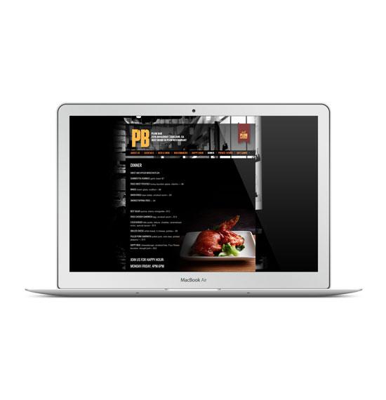 Plum Bar Oakland WordPress Website