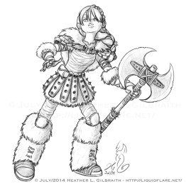 Astrid Lineart