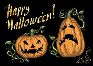 Hallowe'en Jack o' Lanterns