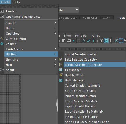 Render Selection To Texture