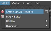Create MASH Network を選択