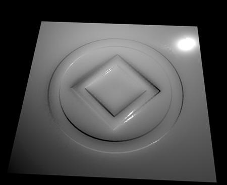 aiStandard Surfaceを使用してレンダリング
