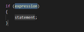 if の構文コードが出力