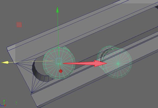 傾いてるオブジェクトの角度に関連性が無いので位置わせが難しい