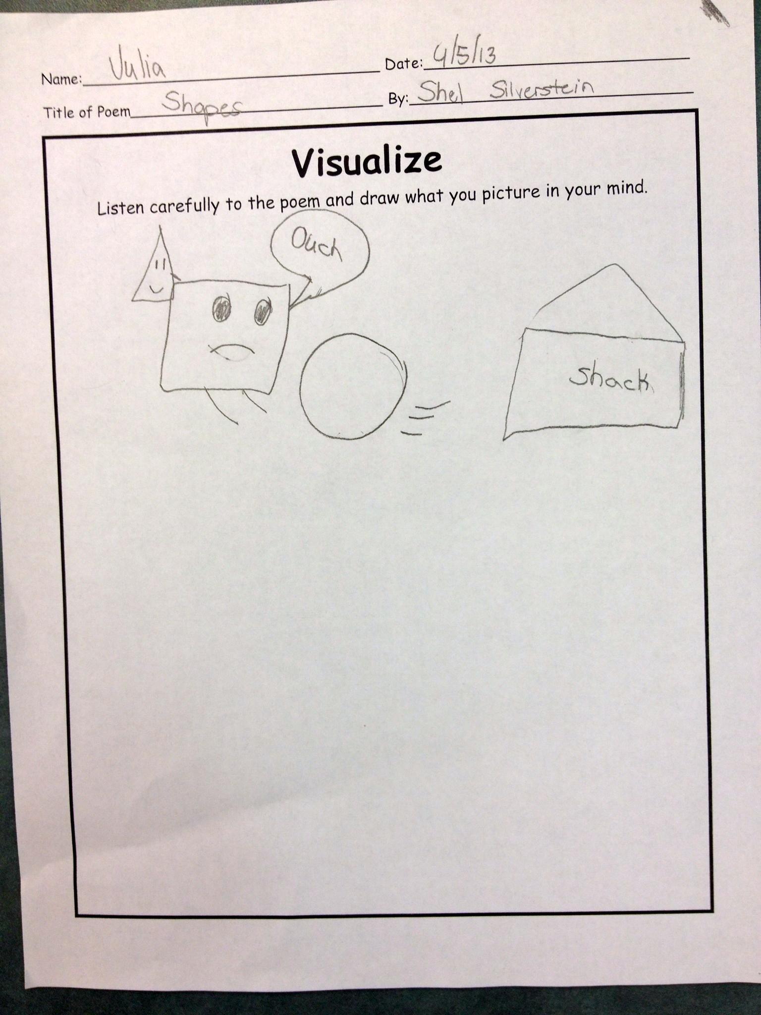 Visualizing Shel Silverstein