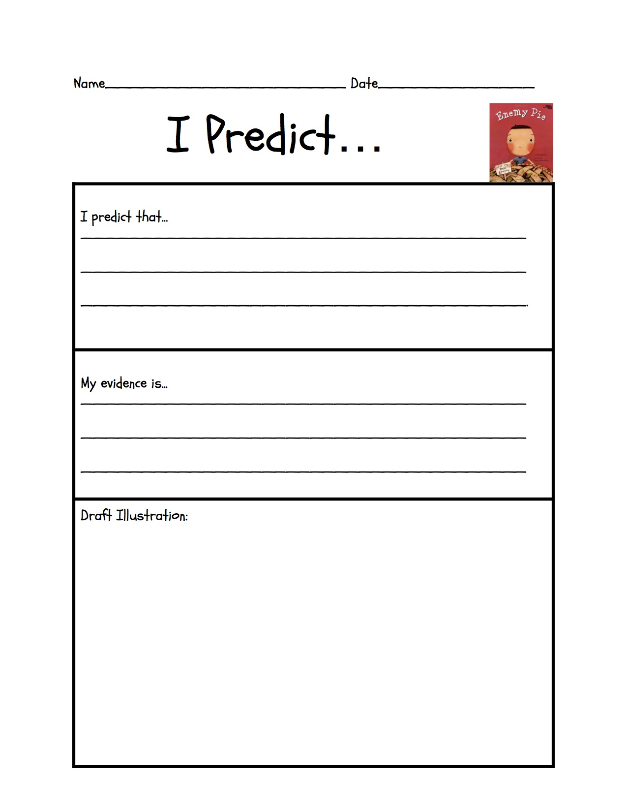 Free Printable Predicting Outcomes Worksheet