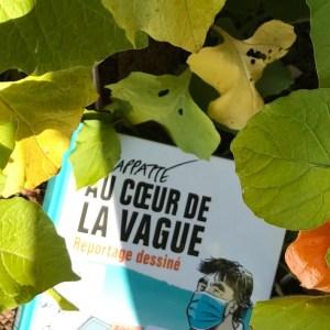 """BD de Chappatte : """"Au coeur de la vague : reportage dessiné"""""""