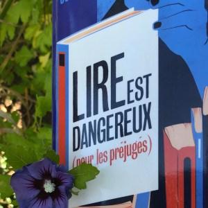 """Roman de Dave Connis """"Lire est dangereux (pour les préjugés)"""""""