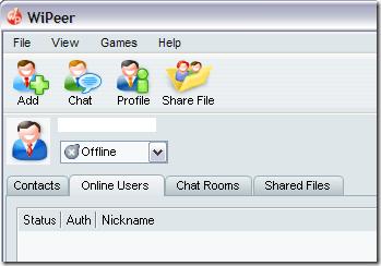 WiPeer - enkel fildelning över lokala nätverk
