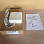 2350円MacBook Air 45W互換電源アダプター購入! Apple純正品と比較してみました。