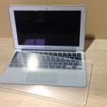 MacBook Air用 アクリルテーブル手加工で作ってみました。