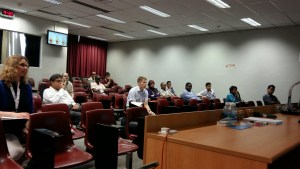 Audience at big data session on last day of ICTD