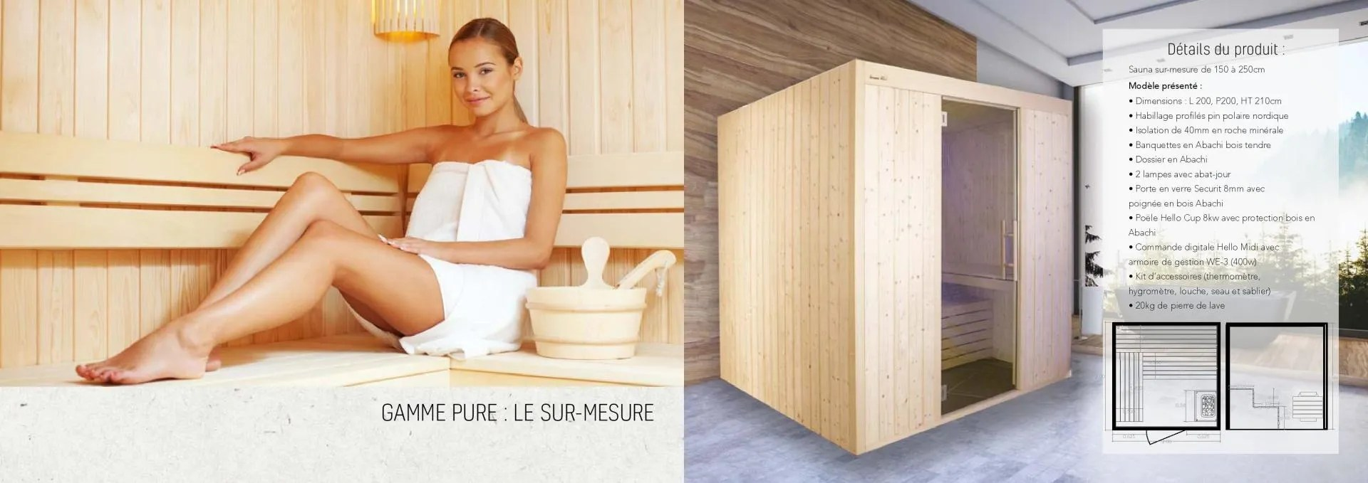 le fabricant de sauna giovanni riboli