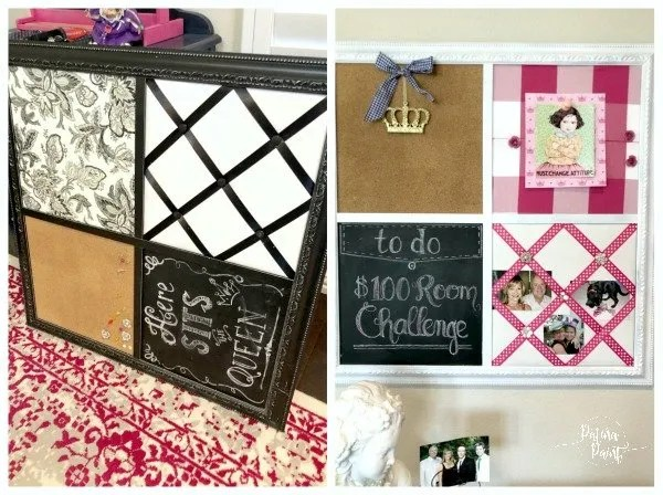 Bulletin board makeover