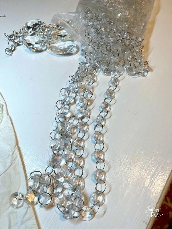 chandelier crystals