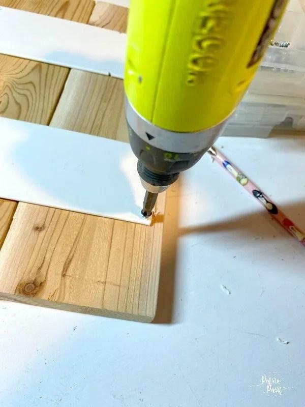 drill, boards