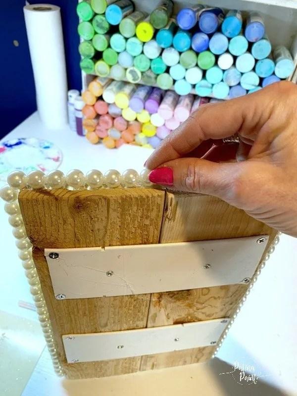 board , beads