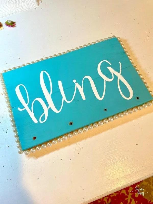 bling sign,