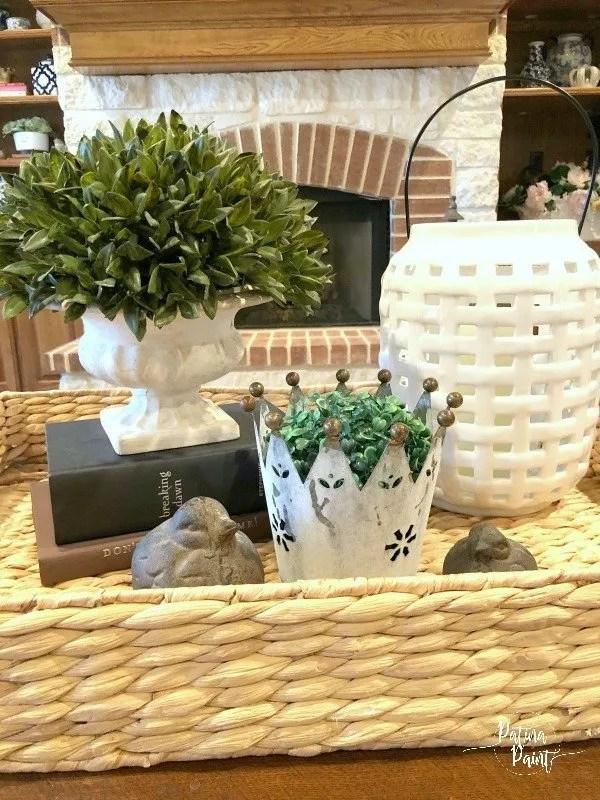 plant, lantern, birds