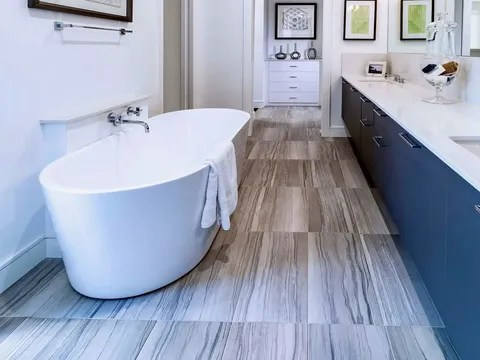 professional bathroom tile installation